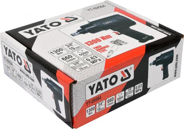 Pistol Pneumatic YATO, 3/4 inch, 1300Nm 3