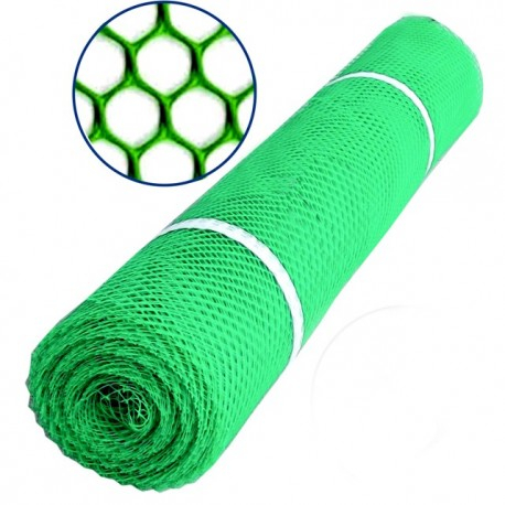 Plasa polietilena VENUS DSH, hexagon, HDPE, rezistenta UV, 1.2X25m, verde 0