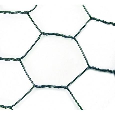 Plasa sarma rabitz VENUS DSH, zincata-plastifiata, 1.0mm, 1.0X25m 1
