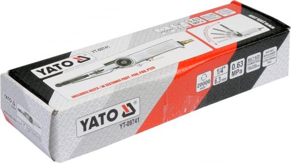Polizor Pneumatic YATO, cu Banda, 10 X 330mm 3
