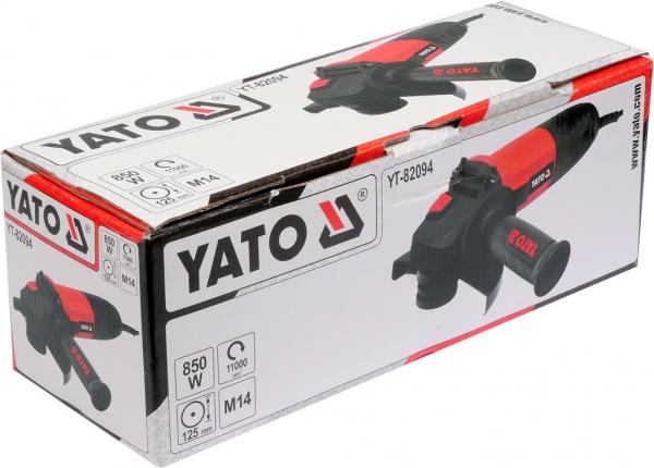 Polizor unghiular YATO, 850W, 125mm 2
