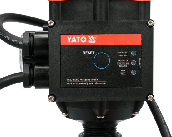 Pompa de Suprafata YATO, de Presiune Constanta, 600W, 3100 l/h [3]
