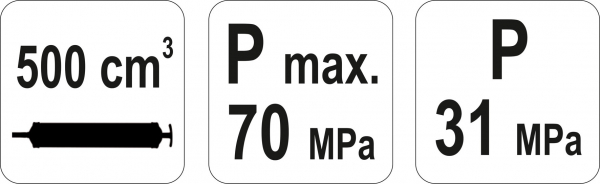 Pompa Manuala YATO, Pentru Extragerea Uleiului, 500ml 4
