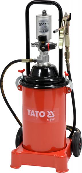 Pompa Pneumatica YATO, Pentru Gresat, 12l, 4m 0