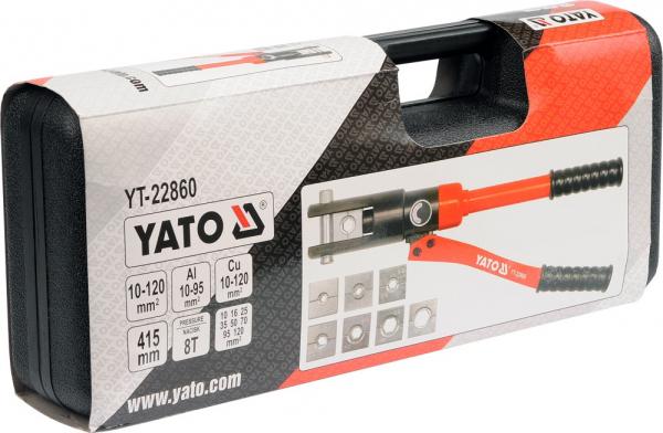 Presa Hidraulica YATO, Pentru Sertizat, 8T, 10 - 120mm [1]