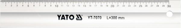 Rigla Aluminiu YATO, 300mm [0]