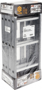 Scara multifunctionala VOREL, otel/aluminiu, 3.4m, 4X3 trepte 3