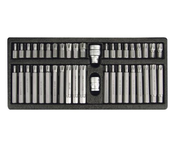 Set Biti Imbus YATO, RIBE Torx, 3/8-1/2 inch, 42 buc [1]