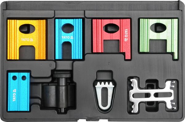 Set Blocare YATO, Pentru Distributie Auto, 8buc, AL 0