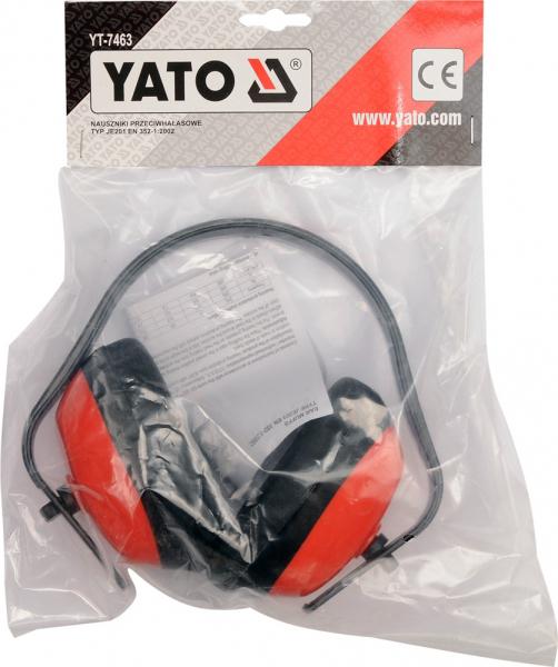 Set casti antifon YATO, tip JE201, ABS 1