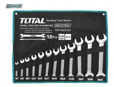 Set Chei Fixe TOTAL, CR-V, 6 - 32mm, 12 buc, INDUSTRIAL 0