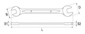Set Chei Fixe YATO, CR-V, 6 - 27mm, 10 buc 2