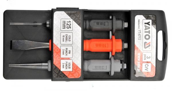 Set Dalti Impact YATO, CR-V, 125mm, 3 buc 0