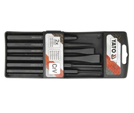 Set Dalti Impact YATO, CR-V, 6 buc 0