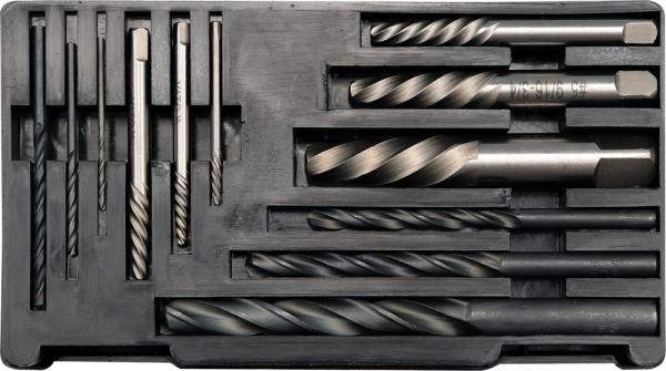 Set Extractoare YATO, Pentru Suruburi Rupte, Burghie Metal, 12buc 0