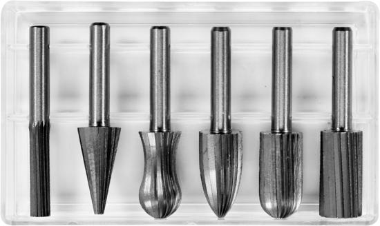 Set freze metal YATO, HSS, 6mm, 6buc [0]