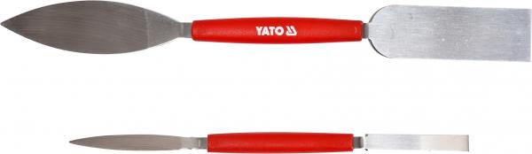 Set spatule YATO, pentru stucco, inox, 2buc 0