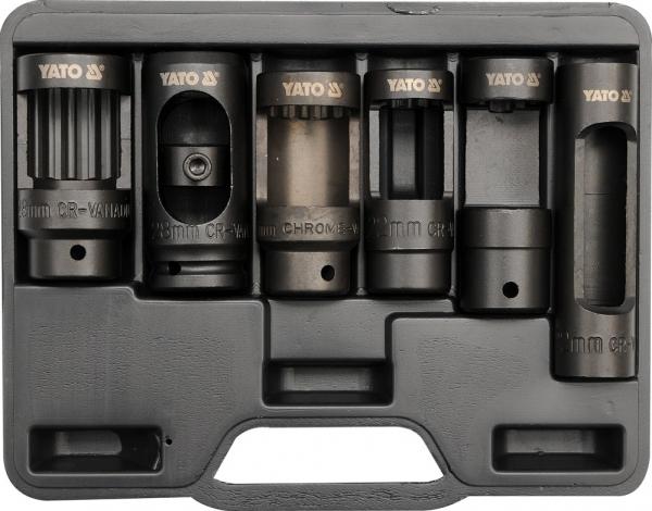Set Tubulare YATO, Pentru Injectoare Diesel, 1/2 inch, 6buc 0