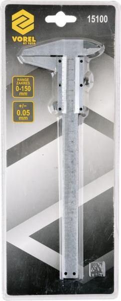 Subler Inox VOREL, 150mm, Precizie 0.05mm [1]