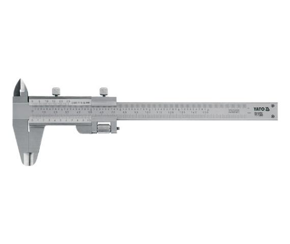 Subler Inox YATO, 150mm, Precizie 0.02mm 0