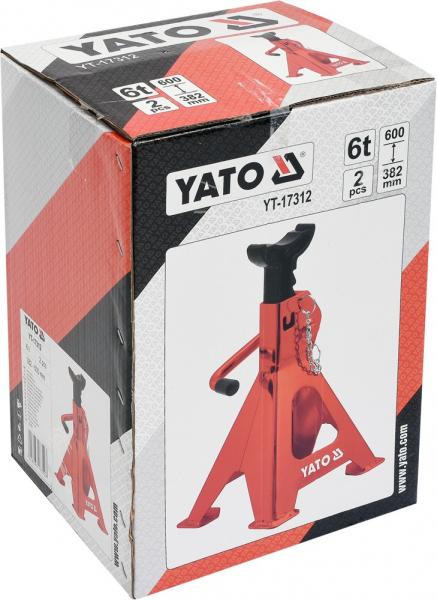 Suport Capra Auto YATO, 6T, 2buc [1]
