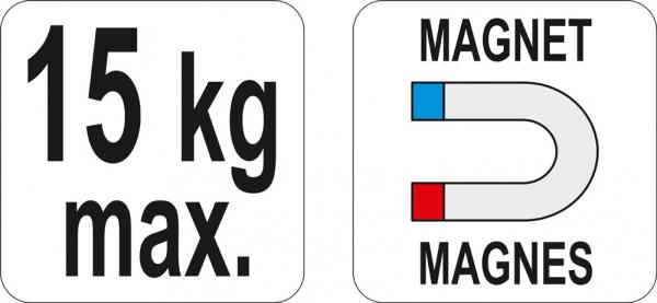 Suport Magnetic YATO, Pentru Scule Pneumatice [3]