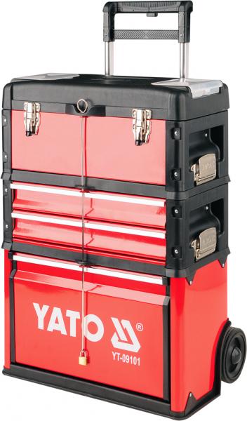 Troler Pentru Scule YATO, Capacitate 45kg, 520 X 320 X 720mm 0