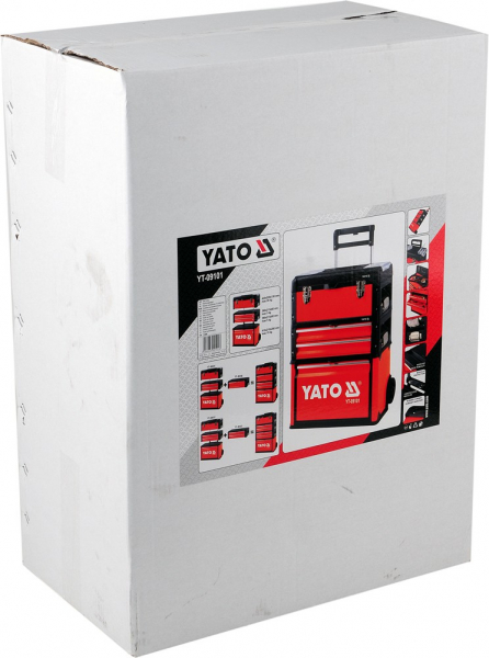 Troler Pentru Scule YATO, Capacitate 45kg, 520 X 320 X 720mm 8