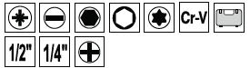 Trusa Chei Tubulare SOLLEO, 1/4+1/2 inch, 108 buc [5]