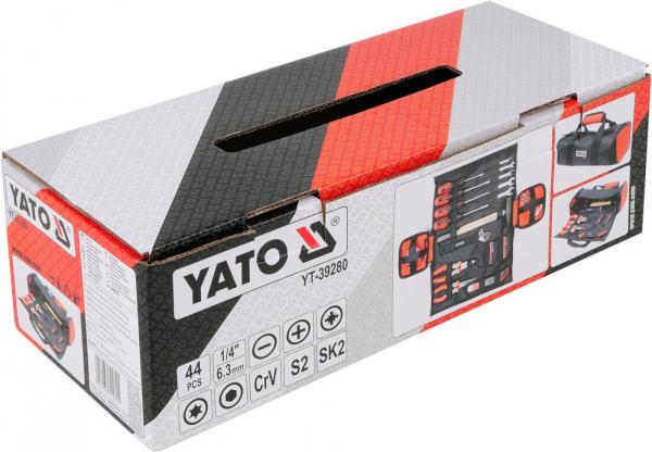 Trusa de Scule YATO, Multifunctionala, 44 buc 3