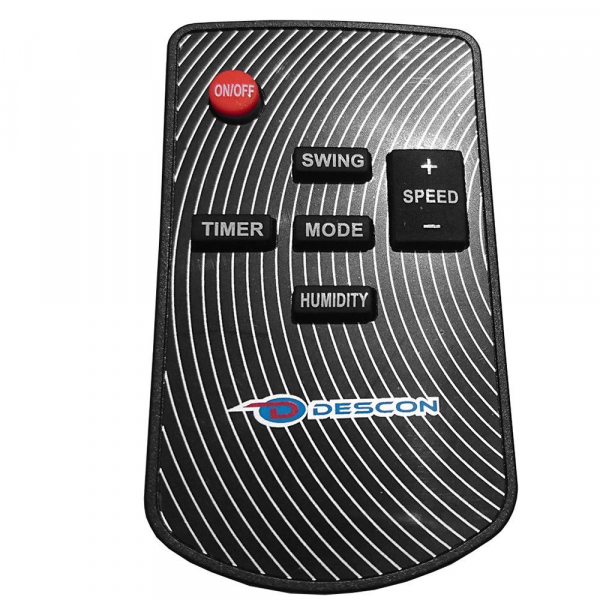 Ventilator pulverizator DESCON, cu telecomanda si timer, 16, 100W [5]