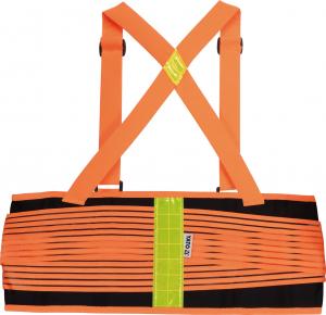 Centura elastica YATO, cu bretele, negru/portocaliu, marime XL1