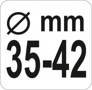 Cheie Bieleta YATO, 35-42mm [2]