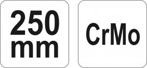 Cleste Autoblocant YATO, Pentru sudura, 250mm2