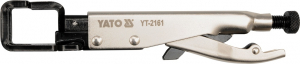 Cleste Autoblocant YATO, Pentru Tinichigerie, Tip JJ, 0 - 15mm, 230mm0