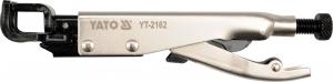 Cleste Autoblocant YATO, Pentru Tinichigerie, Tip LL, 0 - 10mm, 215mm0