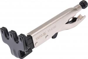 Cleste Autoblocant YATO, Pentru Tinichigerie, Tip W, 0 - 15mm, 200mm [1]