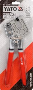 Cleste Imbinare YATO, Pentru Tabla, 0.5 - 0.8mm, 275mm [1]