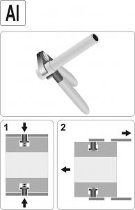 Cleste Pentru Conducte Alimentare Combustibil YATO, Aluminiu2
