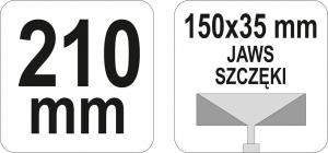 Cleste Profile YATO, 150 X 35mm, 210mm2