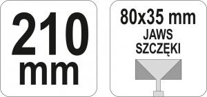 Cleste Profile YATO, 80 X 35mm, 210mm2
