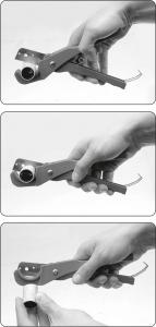 Cleste Taietor YATO, Pentru Tevi, PVC/PP, 35mm2