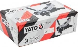 Cric Crocodil YATO, 3T, 130 - 465mm [2]