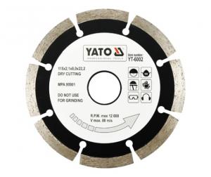 Disc diamantat YATO segmentat0