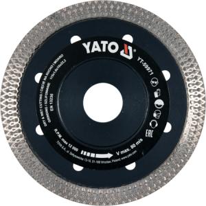Disc Diamantat YATO, Turbo, Ultra-Subtire, 115mm [0]