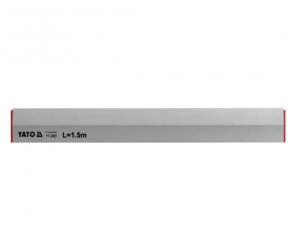 Dreptar Trapezoidal YATO, Aluminiu, 2500mm0