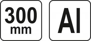 Echer Multifunctional YATO, Aluminiu, 300mm3