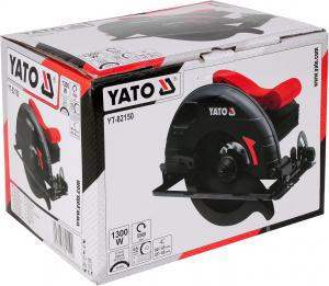 Fierastrau circular YATO, 1300W, 190mm5