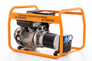 Generator de putere RURIS, R-Power GE5000S, 5000W, benzina, 13CP0
