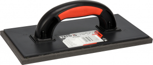 Gletiera cauciuc YATO, 270X130mm, 8mm, maner plastic [0]